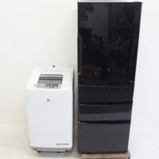 アクア冷蔵庫、日立洗濯機